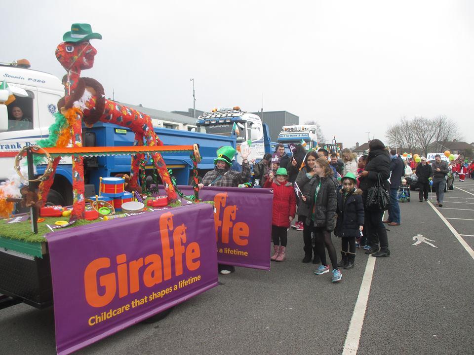 Giraffe Navan St Patrick's day