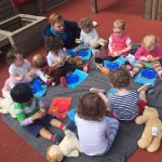 Fun with the Teddies at Elm Park