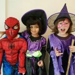 Spiderman and his Witch Friends in IFSC