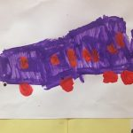 Train Art @ Giraffe Childcare Harcourt