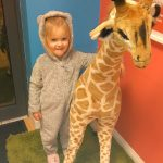 Pyjama day at Giraffe Childcare Celbrdige
