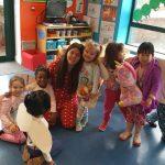 Pyjama day at Giraffe Childcare Lucan